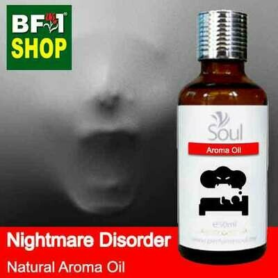 Natural Aroma Oil (AO) - Nightmare disorder Aroma Oil - 50ml