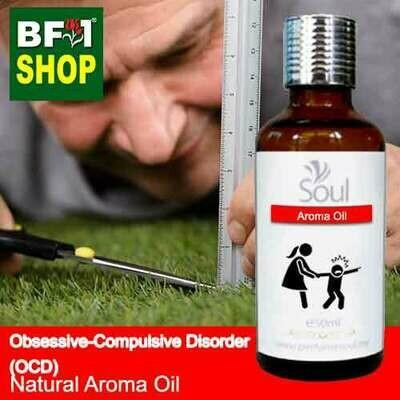 Natural Aroma Oil (AO) - Obsessive-compulsive disorder (OCD) Aroma Oil - 50ml