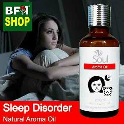 Natural Aroma Oil (AO) - Sleep disorder Aroma Oil - 50ml