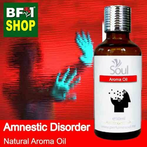 Natural Aroma Oil (AO) - Amnestic disorder Aroma Oil - 50ml