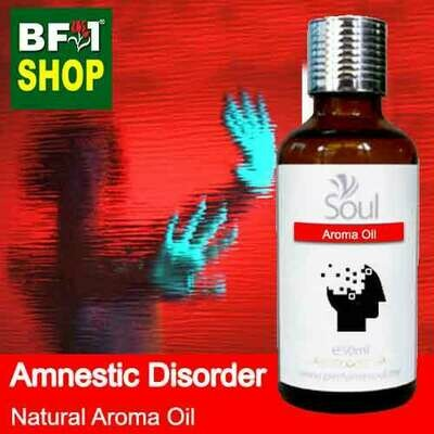 Natural Aroma Oil (AO) - Amnestic disorder Aroma Oil - 50ml
