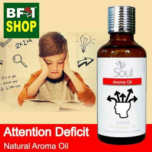 Natural Aroma Oil (AO) - Attention deficit Aroma Oil - 50ml