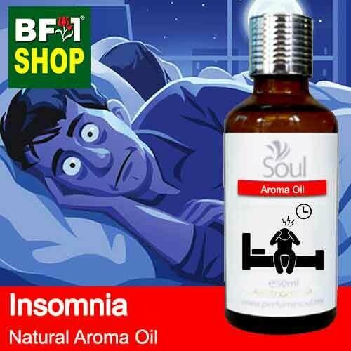 Natural Aroma Oil (AO) - Insomnia Aroma Oil - 50ml