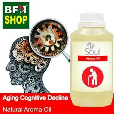 Natural Aroma Oil (AO) - Aging cognitive decline Aroma Oil - 500ml
