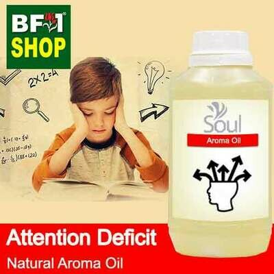 Natural Aroma Oil (AO) - Attention deficit Aroma Oil - 500ml