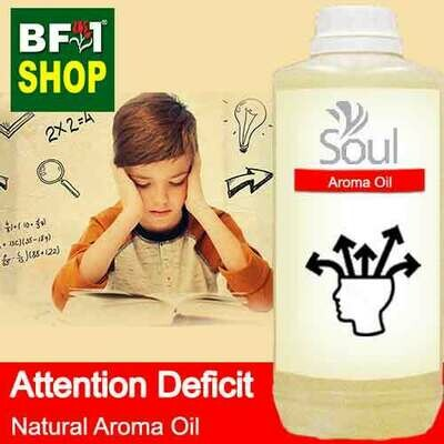 Natural Aroma Oil (AO) - Attention deficit Aroma Oil - 1L