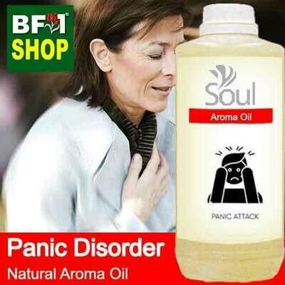 Natural Aroma Oil (AO) - Panic disorder Aroma Oil - 1L