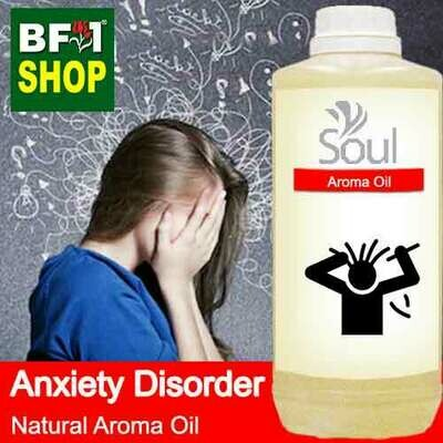 Natural Aroma Oil (AO) - Anxiety disorder Aroma Oil - 1L