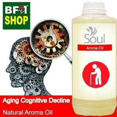 Natural Aroma Oil (AO) - Aging cognitive decline Aroma Oil - 1L