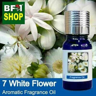 Aromatic Fragrance Oil (AFO) - 7 White Flowers - 10ml