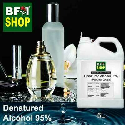Alcohol - Denatured Alcohol 95% ( Perfume Grade ) - 5L
