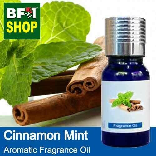 Aromatic Fragrance Oil (AFO) - Cinnamon Mint - 10ml