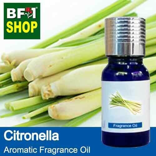 Aromatic Fragrance Oil (AFO) - Citronella Java Citronella - 10ml