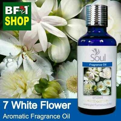 Aromatic Fragrance Oil (AFO) - 7 White Flowers - 50ml