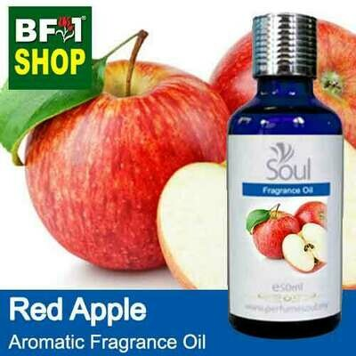 Aromatic Fragrance Oil (AFO) - Apple Red Apple - 50ml
