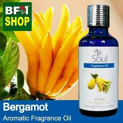 Aromatic Fragrance Oil (AFO) - Bergamot - 50ml