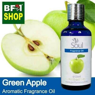 Aromatic Fragrance Oil (AFO) - Apple Green Apple - 50ml