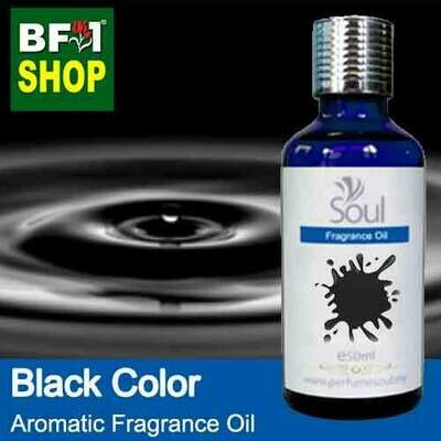 Aromatic Fragrance Oil (AFO) - Black Color - 50ml