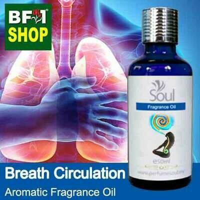 Aromatic Fragrance Oil (AFO) - Breath Circulation - 50ml