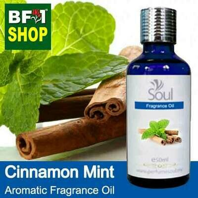 Aromatic Fragrance Oil (AFO) - Cinnamon Mint - 50ml