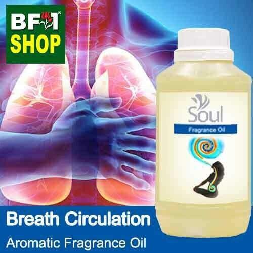 Aromatic Fragrance Oil (AFO) - Breath Circulation - 500ml