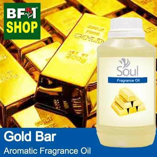 Aromatic Fragrance Oil (AFO) - Gold Bar - 500ml
