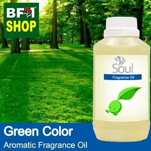 Aromatic Fragrance Oil (AFO) - Green Color - 500ml