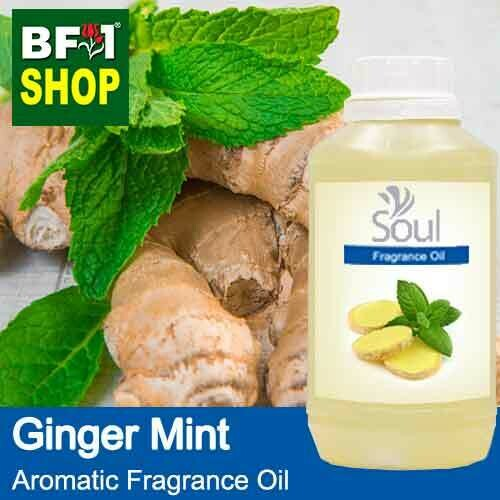 Aromatic Fragrance Oil (AFO) - Ginger Mint - 500ml
