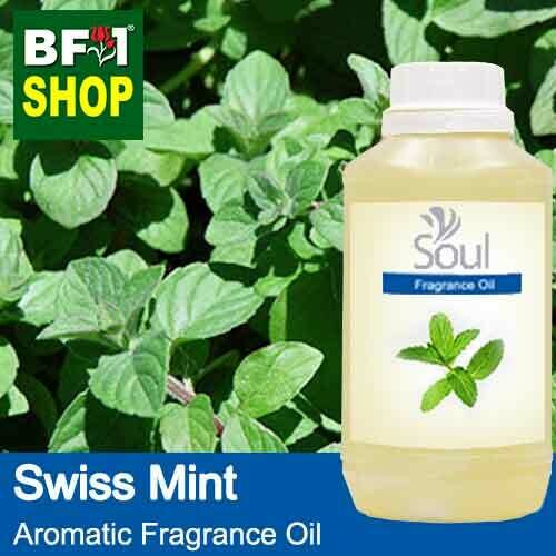 Aromatic Fragrance Oil (AFO) - Swiss Mint - 500ml