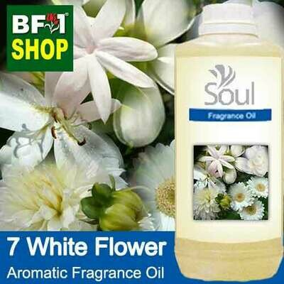 Aromatic Fragrance Oil (AFO) - 7 White Flowers - 1L