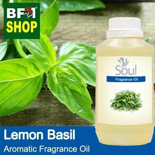 Aromatic Fragrance Oil (AFO) - Lemon Basil - 500ml
