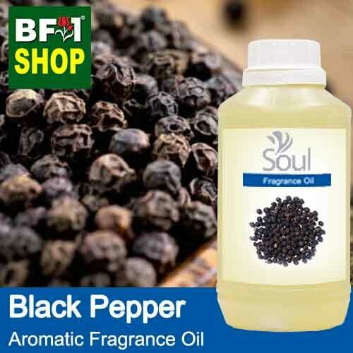 Aromatic Fragrance Oil (AFO) - Pepper Black Pepper - 500ml