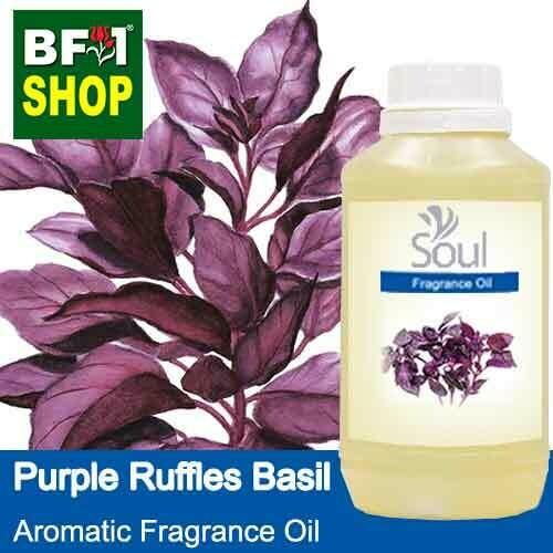 Aromatic Fragrance Oil (AFO) - Purple Ruffles Basil - 500ml