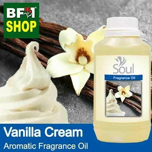 Aromatic Fragrance Oil (AFO) - Vanilla Cream - 500ml