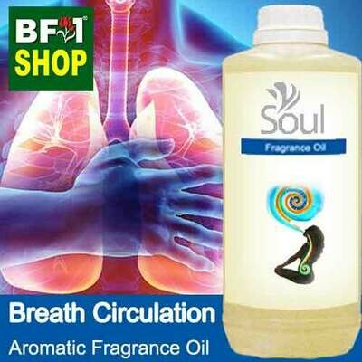 Aromatic Fragrance Oil (AFO) - Breath Circulation - 1L