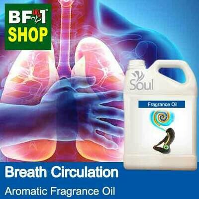 Aromatic Fragrance Oil (AFO) - Breath Circulation - 5L
