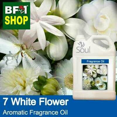 Aromatic Fragrance Oil (AFO) - 7 White Flowers - 5L