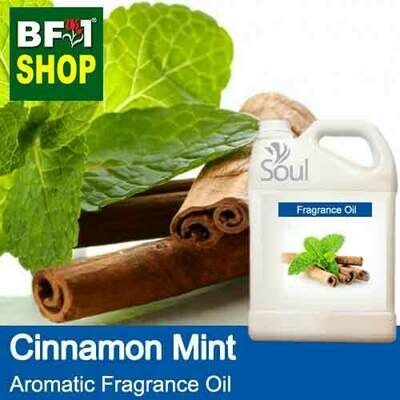 Aromatic Fragrance Oil (AFO) - Cinnamon Mint - 5L