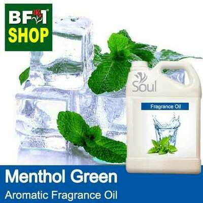 Aromatic Fragrance Oil (AFO) - Menthol Green - 5L