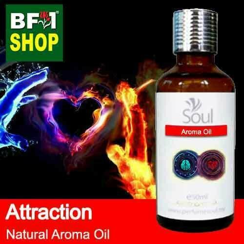 Natural Aroma Oil (AO) - Attraction Aura Aroma Oil - 50ml