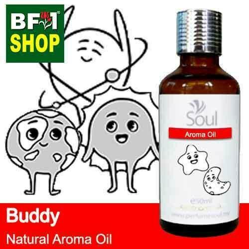 Natural Aroma Oil (AO) - Buddy Aura Aroma Oil - 50ml