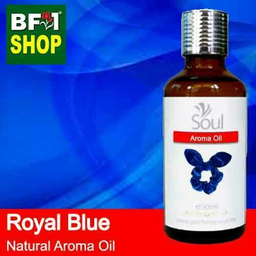 Natural Aroma Oil (AO) - Royal Blue Aura Aroma Oil - 50ml