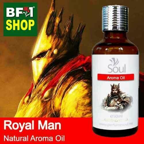 Natural Aroma Oil (AO) - Royal Man Aura Aroma Oil - 50ml