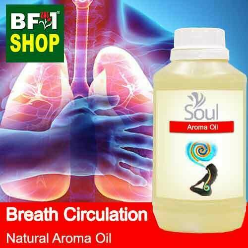 Natural Aroma Oil (AO) - Breath Circulation Aura Aroma Oil - 500ml