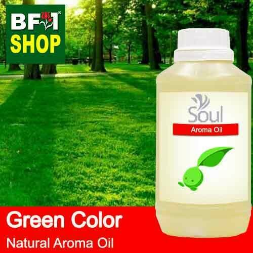Natural Aroma Oil (AO) - Green Color Aura Aroma Oil - 500ml