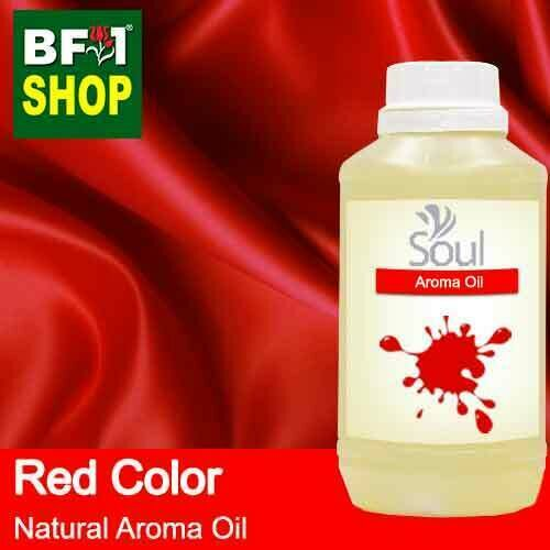 Natural Aroma Oil (AO) - Red Color Aura Aroma Oil - 500ml