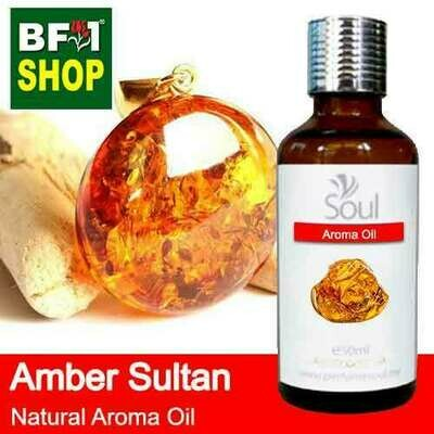 Natural Aroma Oil (AO) - Amber Sultan Aura Aroma Oil - 50ml
