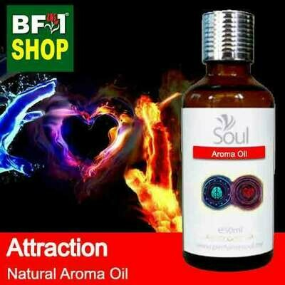 Natural Aroma Oil (AO) - Attraction Aura Aroma Oil - 50ml
