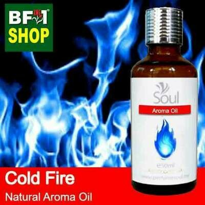 Natural Aroma Oil (AO) - Cold Fire Aura Aroma Oil - 50ml