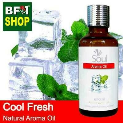Natural Aroma Oil (AO) - Cool Fresh Aura Aroma Oil - 50ml